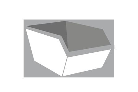 Puin container 3m³