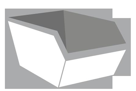 Puin container 6m³