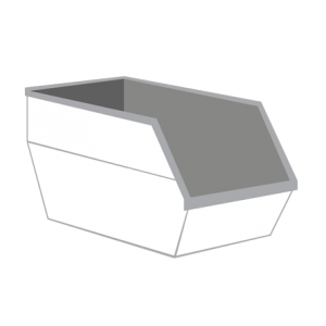 Papier container 10m³
