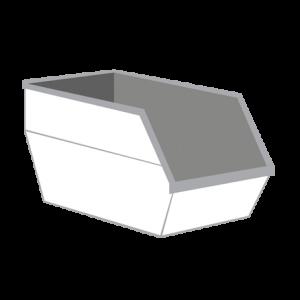 Dakafval container 10m³