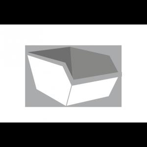 Bedrijfsafval container 3m³