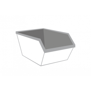 Dakafval container 3m³