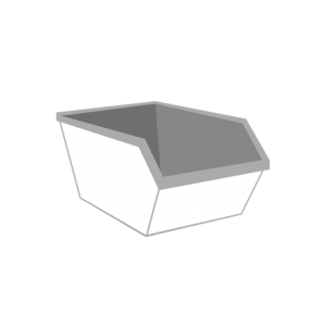 Grond container 3m³
