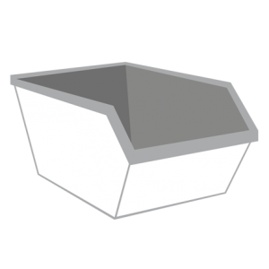 Grond container 6m³