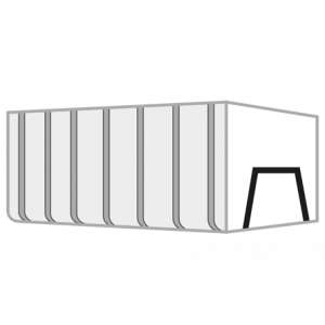 Grofvuil container 35m³